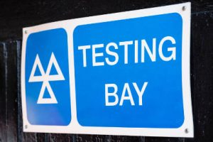MOT-testing-bay-sign